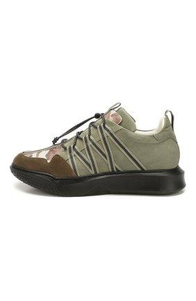 Кожаные кроссовки | Фото №2