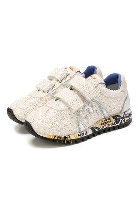 Детские кроссовки PREMIATA WILL BE белого цвета, арт. LUCY V/1221/T0D   Фото 1