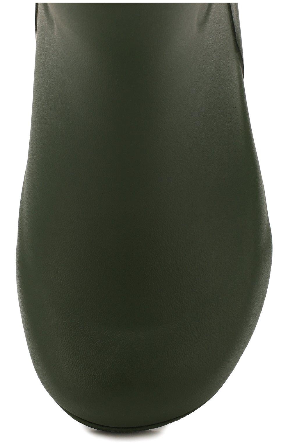 Детские резиновые сапоги AIGLE хаки цвета, арт. 243373/W00DYP0P. | Фото 4