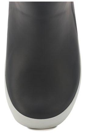 Детские резиновые сапоги AIGLE серого цвета, арт. 2453C4/GIB0ULEE | Фото 4
