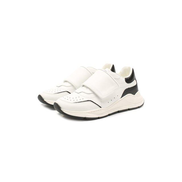 Кожаные кроссовки Dolce & Gabbana — Кожаные кроссовки