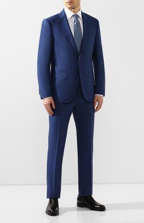 Мужские кожаные оксфорды SALVATORE FERRAGAMO черного цвета, арт. Z-07078253E | Фото 2