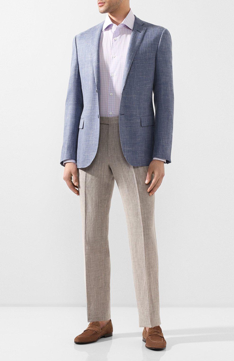 Мужская хлопковая сорочка CORNELIANI разноцветного цвета, арт. 85P100-0111530/00 | Фото 2