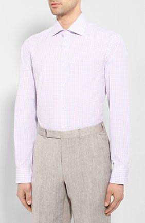 Мужская хлопковая сорочка CORNELIANI разноцветного цвета, арт. 85P100-0111530/00 | Фото 3