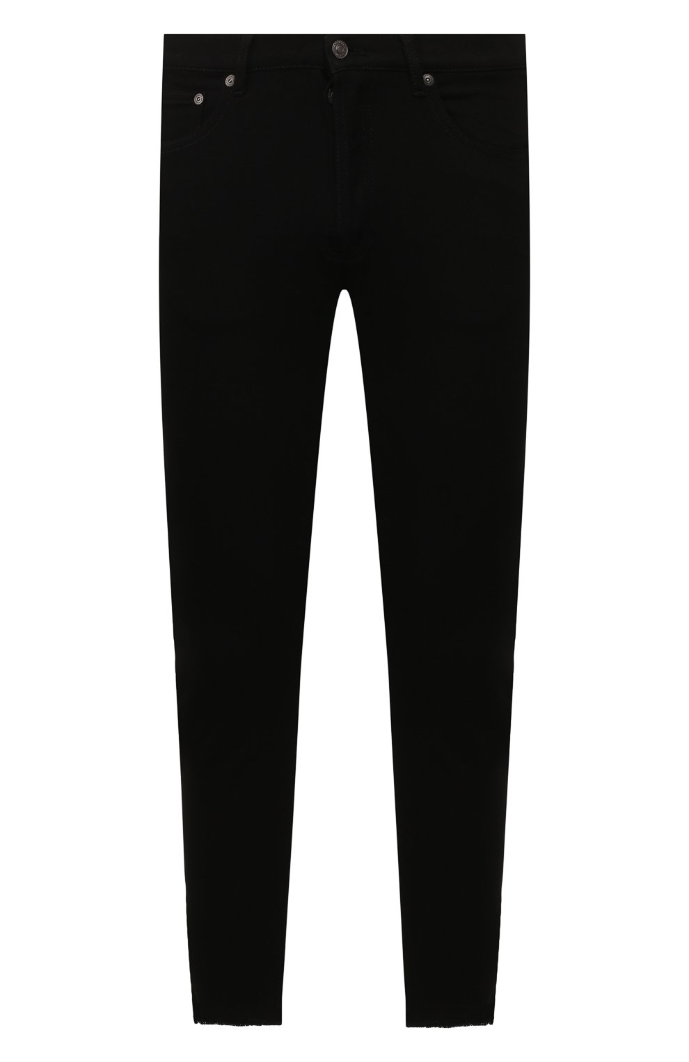 Мужские джинсы GIVENCHY черного цвета, арт. BM50C05Y0M   Фото 1