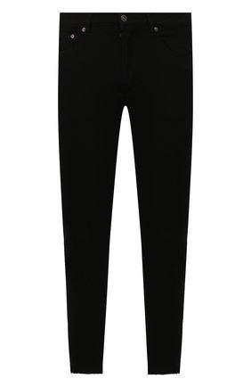 Мужские джинсы GIVENCHY черного цвета, арт. BM50C05Y0M | Фото 1