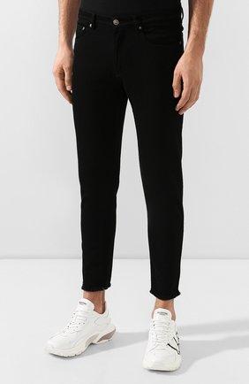 Мужские джинсы GIVENCHY черного цвета, арт. BM50C05Y0M   Фото 3