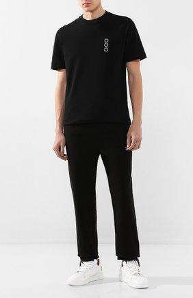 Мужской хлопковые брюки 1017 ALYX 9SM черного цвета, арт. AAMPA0104FA01 | Фото 2