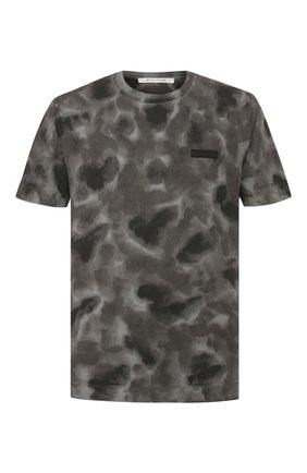 Мужская хлопковая футболка 1017 ALYX 9SM темно-серого цвета, арт. AAMTS0114FA01 | Фото 1