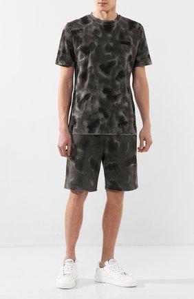 Мужская хлопковая футболка 1017 ALYX 9SM темно-серого цвета, арт. AAMTS0114FA01 | Фото 2