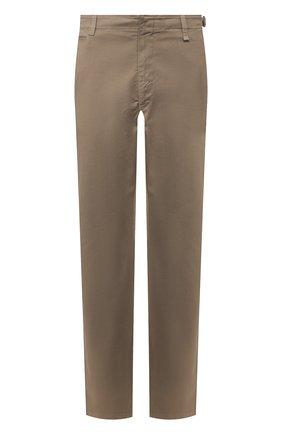 Мужские хлопковые брюки BRIONI темно-бежевого цвета, арт. RPM60L/P8T01/TAKAR0A | Фото 1