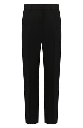 Мужской шерстяные брюки JIL SANDER черного цвета, арт. JSMQ310801-MQ201500 | Фото 1