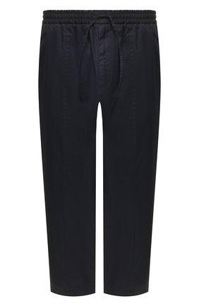Мужской хлопковые брюки JIL SANDER темно-синего цвета, арт. JSMQ312031-MQ243800 | Фото 1