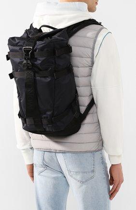 Мужской текстильный рюкзак MONCLER черного цвета, арт. F1-09A-5A703-10-02SB1 | Фото 2