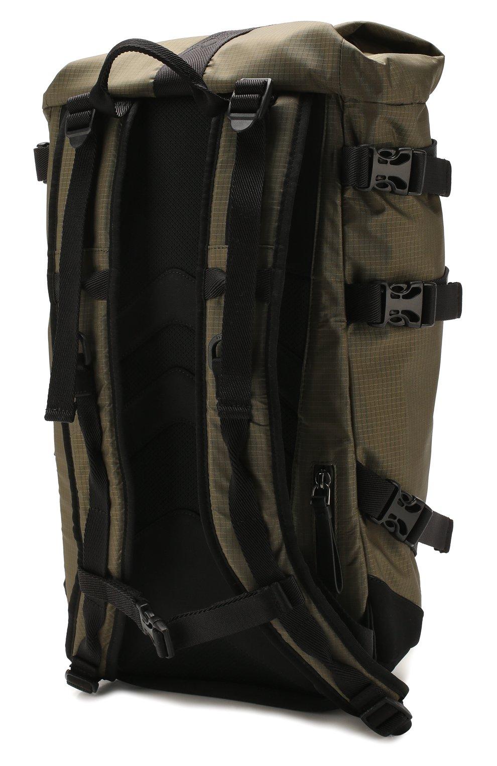 Мужской текстильный рюкзак MONCLER хаки цвета, арт. F1-09A-5A703-10-02SB1 | Фото 3