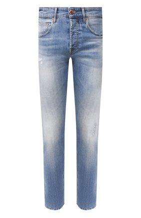 Мужские джинсы DON THE FULLER синего цвета, арт. DHS0/NEWY0RK/DTF/45 | Фото 1