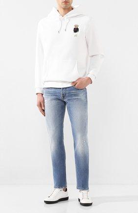 Мужские джинсы DON THE FULLER синего цвета, арт. DHS0/NEWY0RK/DTF/45 | Фото 2