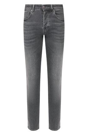 Мужские джинсы DON THE FULLER серого цвета, арт. DHS0/NEWY0RK/DTF/BCA | Фото 1