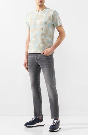 Мужские джинсы DON THE FULLER серого цвета, арт. DHS0/NEWY0RK/DTF/BCA | Фото 2