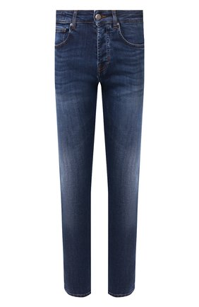 Мужские джинсы DON THE FULLER синего цвета, арт. DHS0/NEWY0RK/DTF/G0 | Фото 1