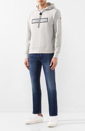 Мужские джинсы DON THE FULLER синего цвета, арт. DHS0/NEWY0RK/DTF/G0 | Фото 2