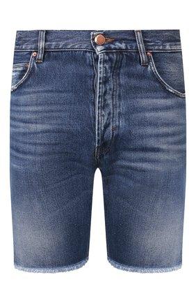 Мужские джинсовые шорты DON THE FULLER синего цвета, арт. DHS0/T0KY0SH/DTF/DA | Фото 1