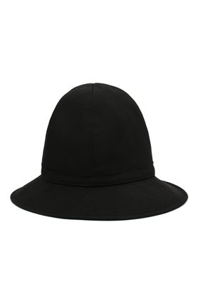 Мужская шерстяная шляпа YOHJI YAMAMOTO черного цвета, арт. HN-H09-100   Фото 1