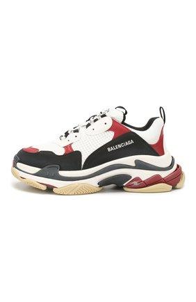 Мужские комбинированные кроссовки triple s BALENCIAGA разноцветного цвета, арт. 536737/W090M | Фото 3 (Материал внешний: Текстиль; Материал внутренний: Текстиль; Подошва: Массивная)
