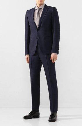 Мужские кожаные дерби W.GIBBS черного цвета, арт. 0999002/0040   Фото 2
