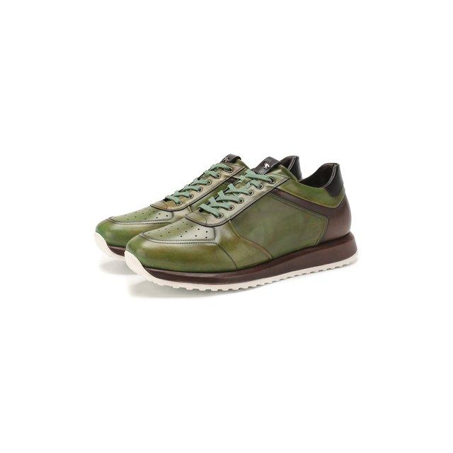 Кожаные кроссовки W.Gibbs — Кожаные кроссовки