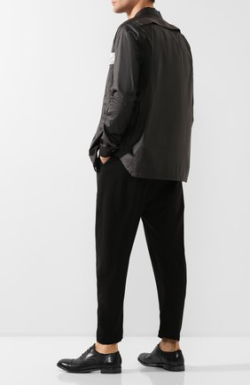 Мужские кожаные оксфорды MOMA темно-синего цвета, арт. 2AS029-MU | Фото 2