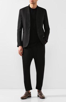 Мужские кожаные оксфорды MOMA коричневого цвета, арт. 2AS035-MU | Фото 2