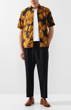 Мужские кожаные оксфорды MOMA коричневого цвета, арт. 2FS063-CA | Фото 2