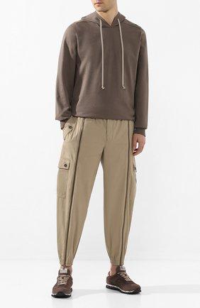 Мужские замшевые кроссовки sean PREMIATA коричневого цвета, арт. SEAN/VAR2931 | Фото 2