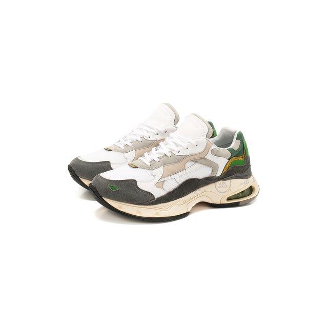 Комбинированные кроссовки Sharky Premiata — Комбинированные кроссовки Sharky