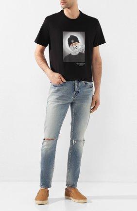 Мужские кожаные эспадрильи vlad JIMMY CHOO светло-коричневого цвета, арт. VLAD/AEH | Фото 2
