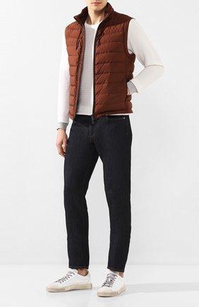 Мужские кожаные кеды ANDREA CAMPAGNA белого цвета, арт. 515034.247.152 | Фото 2