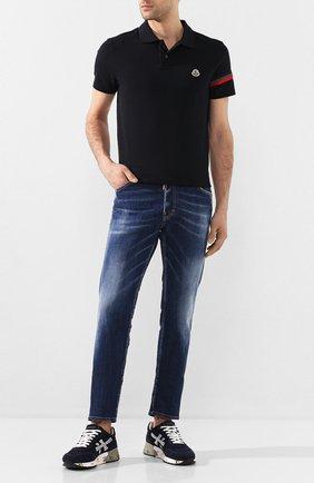 Мужские замшевые кроссовки mick PREMIATA синего цвета, арт. MICK/VAR3830 | Фото 2