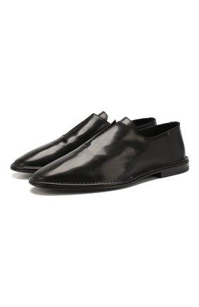 Мужские кожаные оксфорды PIERRE HARDY черного цвета, арт. TG02/CALF   Фото 1