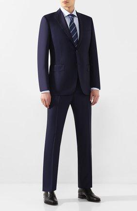 Мужские кожаные оксфорды SANTONI черного цвета, арт. MCBN17158PC2NUTAN01 | Фото 2