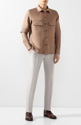 Мужской кожаные дерби SILVANO SASSETTI бордового цвета, арт. S19935XW06DCHKTB0RD | Фото 2