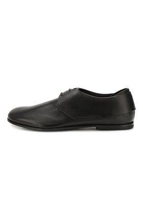 Мужские кожаные дерби SILVANO SASSETTI черного цвета, арт. S19964X414BCABUNER. | Фото 3