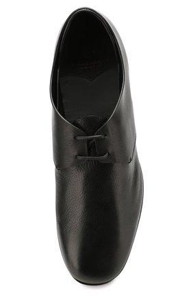 Мужские кожаные дерби SILVANO SASSETTI черного цвета, арт. S19964X414BCABUNER. | Фото 5