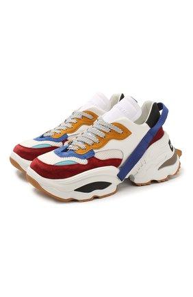 Мужские комбинированные кроссовки the giant DSQUARED2 разноцветного цвета, арт. SNM0088 01502616 | Фото 1