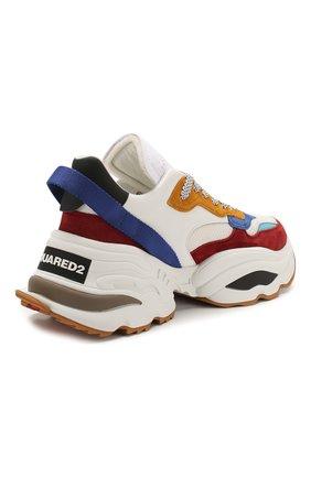 Мужские комбинированные кроссовки the giant DSQUARED2 разноцветного цвета, арт. SNM0088 01502616 | Фото 4
