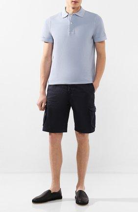 Мужские кожаные эспадрильи SERGIO ROSSI черного цвета, арт. A89650-MMVR18 | Фото 2