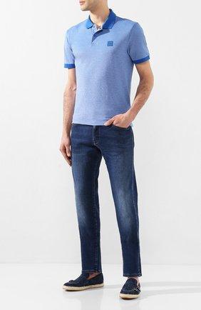 Мужские текстильные эспадрильи DOUCAL'S темно-синего цвета, арт. DU2649VULCUF122AB00 | Фото 2