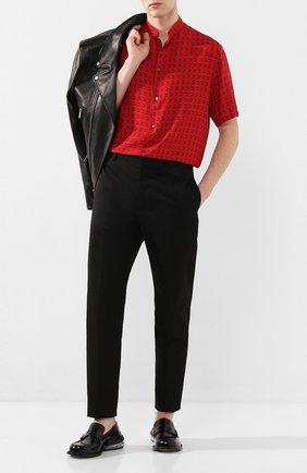 Мужские кожаные пенни-лоферы MAISON MARGIELA черного цвета, арт. S57WR0057/P1993 | Фото 2 (Материал внутренний: Натуральная кожа; Мужское Кросс-КТ: Лоферы-обувь; Стили: Кэжуэл)