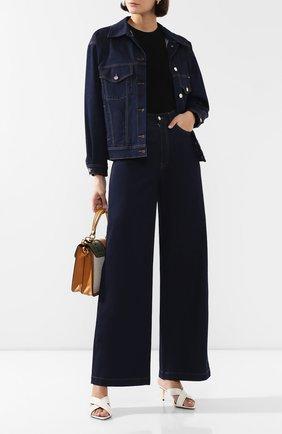 Женская джинсовая куртка DOLCE & GABBANA темно-синего цвета, арт. F9H06D/G899X | Фото 2