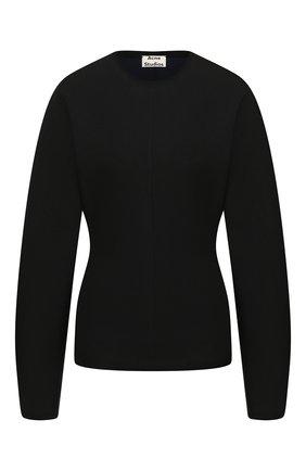 Женская пуловер ACNE STUDIOS черного цвета, арт. A60151/W | Фото 1